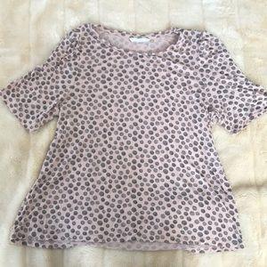 Blush patterned shirt